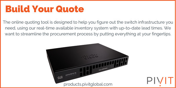Build Your Router Quote from PivIT Global