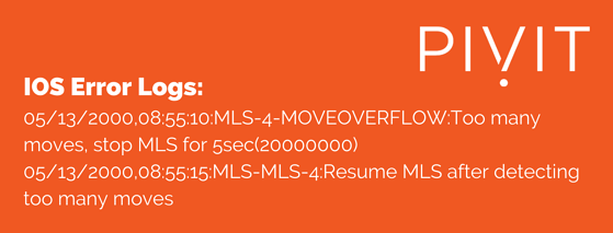 HSRP example error 6 MLS-4-MOVEOVERFLOW message at pivit global