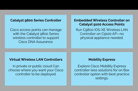 cisco access point management options