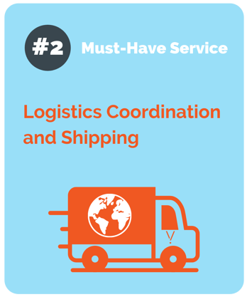 logistics coordination and shipping form pivit global
