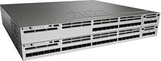 Cisco Catalyst 3850 series switch with 12 and 24 1/10 gigabit ports from pivit global