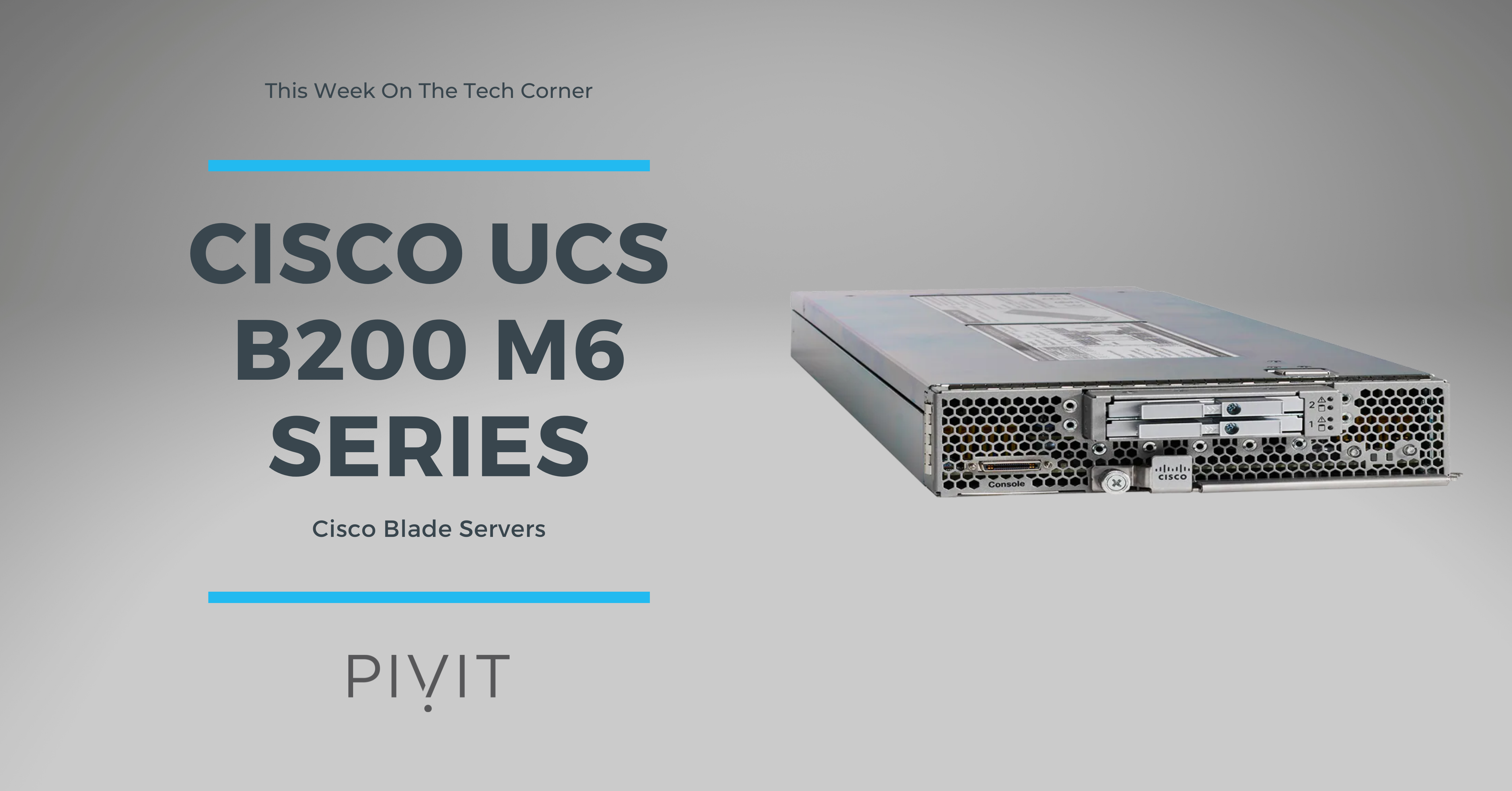 Newly Released, 3rd Gen. Intel-Powered UCS B200 M6 is Worth the Excitement