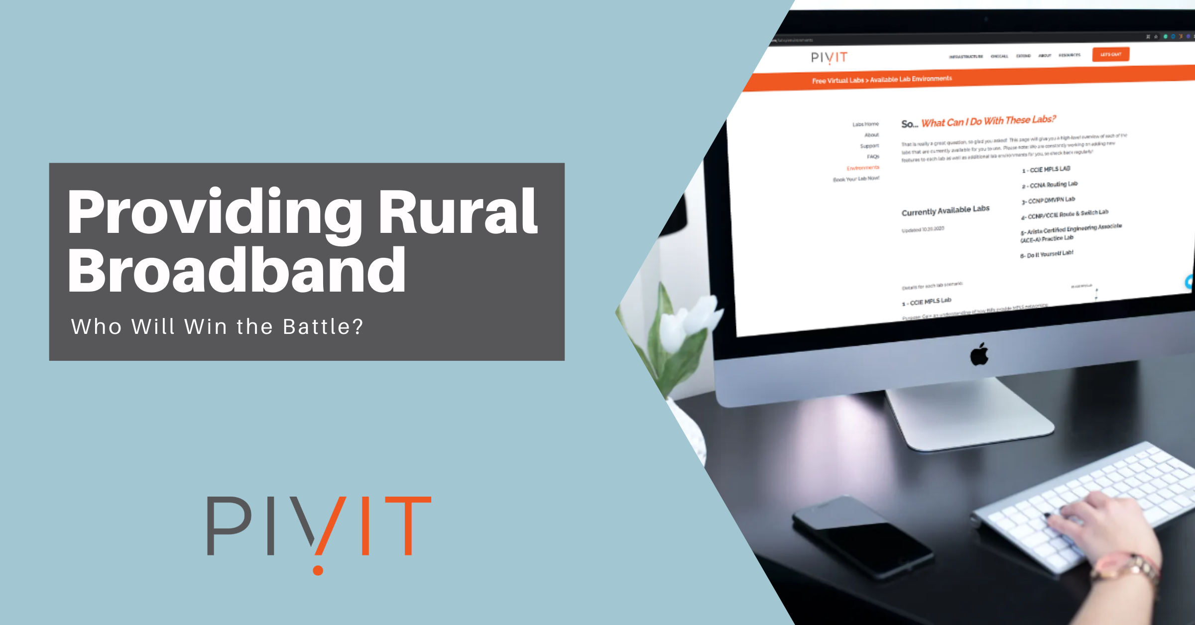 providing rural areas broadband network