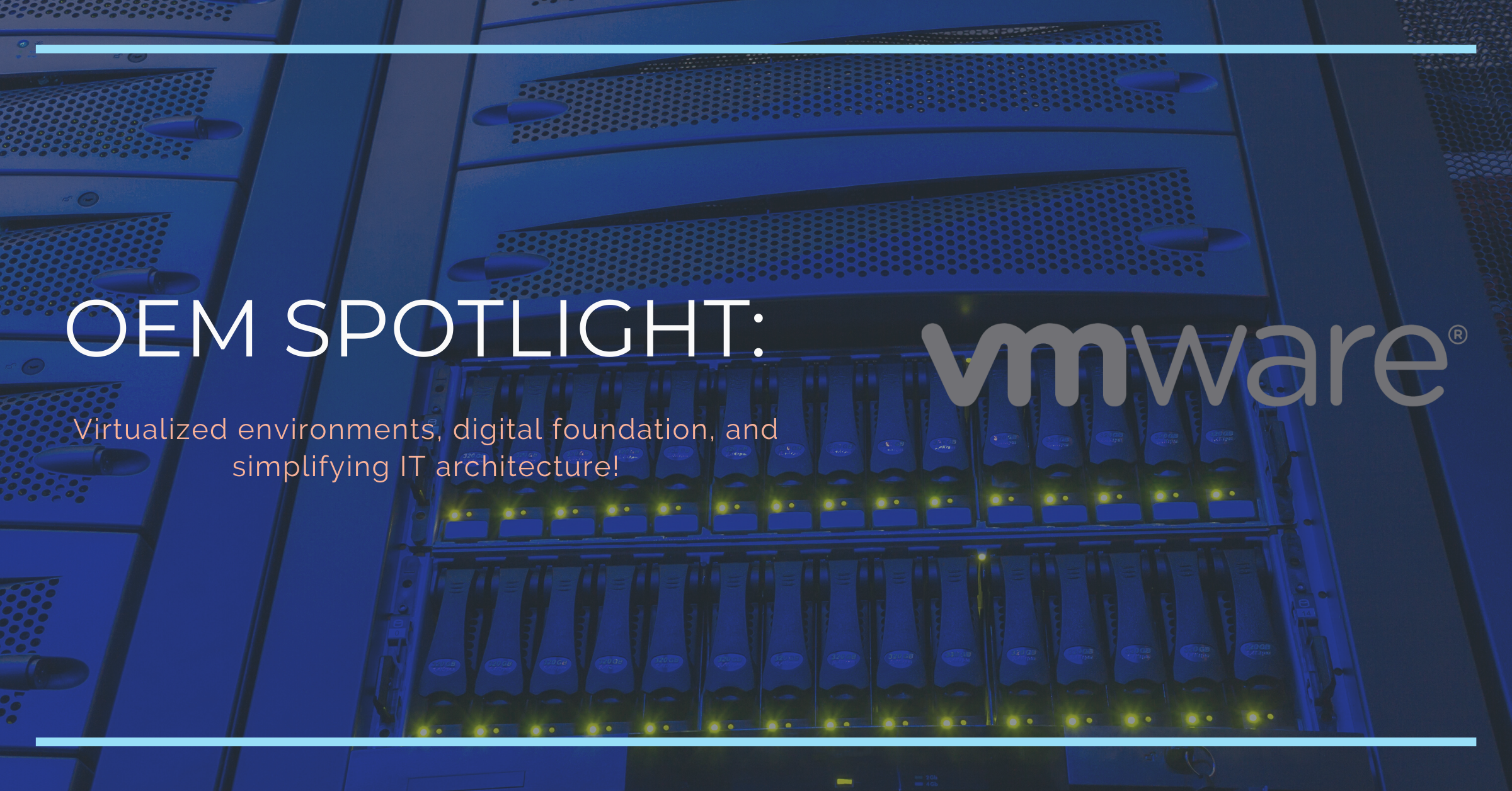 A Leader in Modernizing Your Data Center: VMware