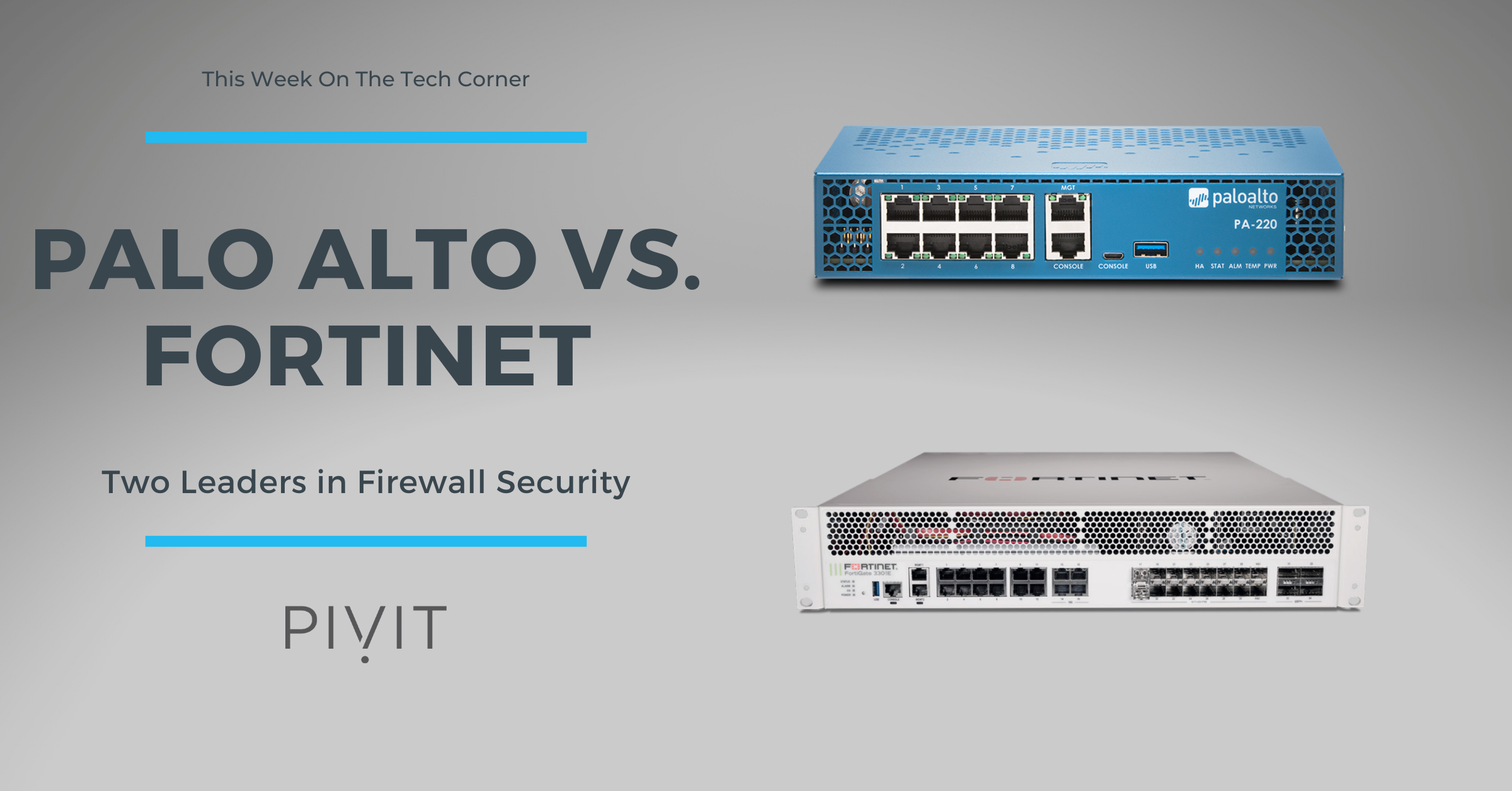 Palo Alto vs. Fortinet in a Next-Generation Firewall Comparison