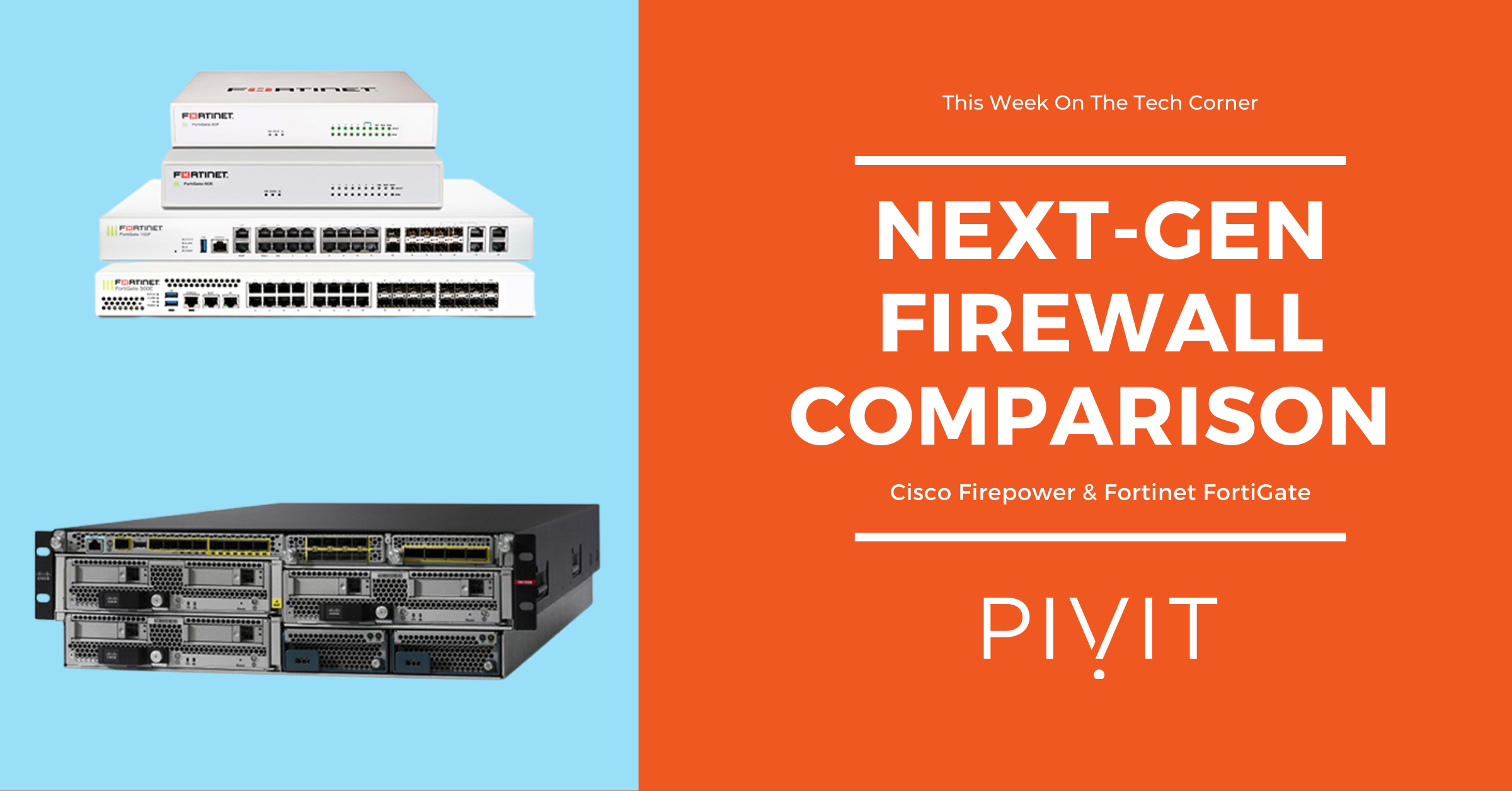 Firepower Vs. FortiGate – Building an Integrated Security Solution
