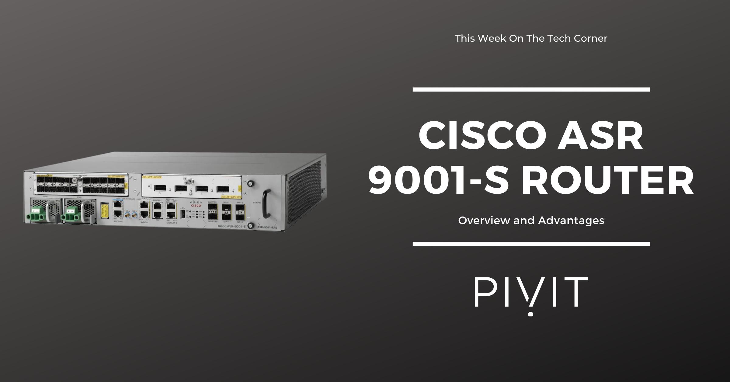 Cisco ASR 9001-S Router image