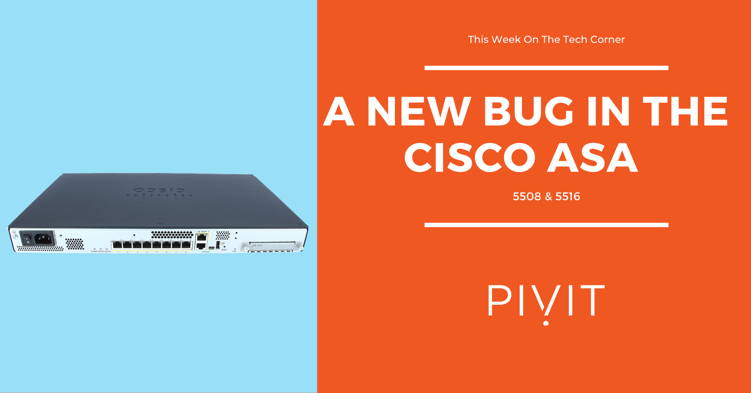 A New Bug in Cisco Kit, Stop It Before It Takes Your's Down
