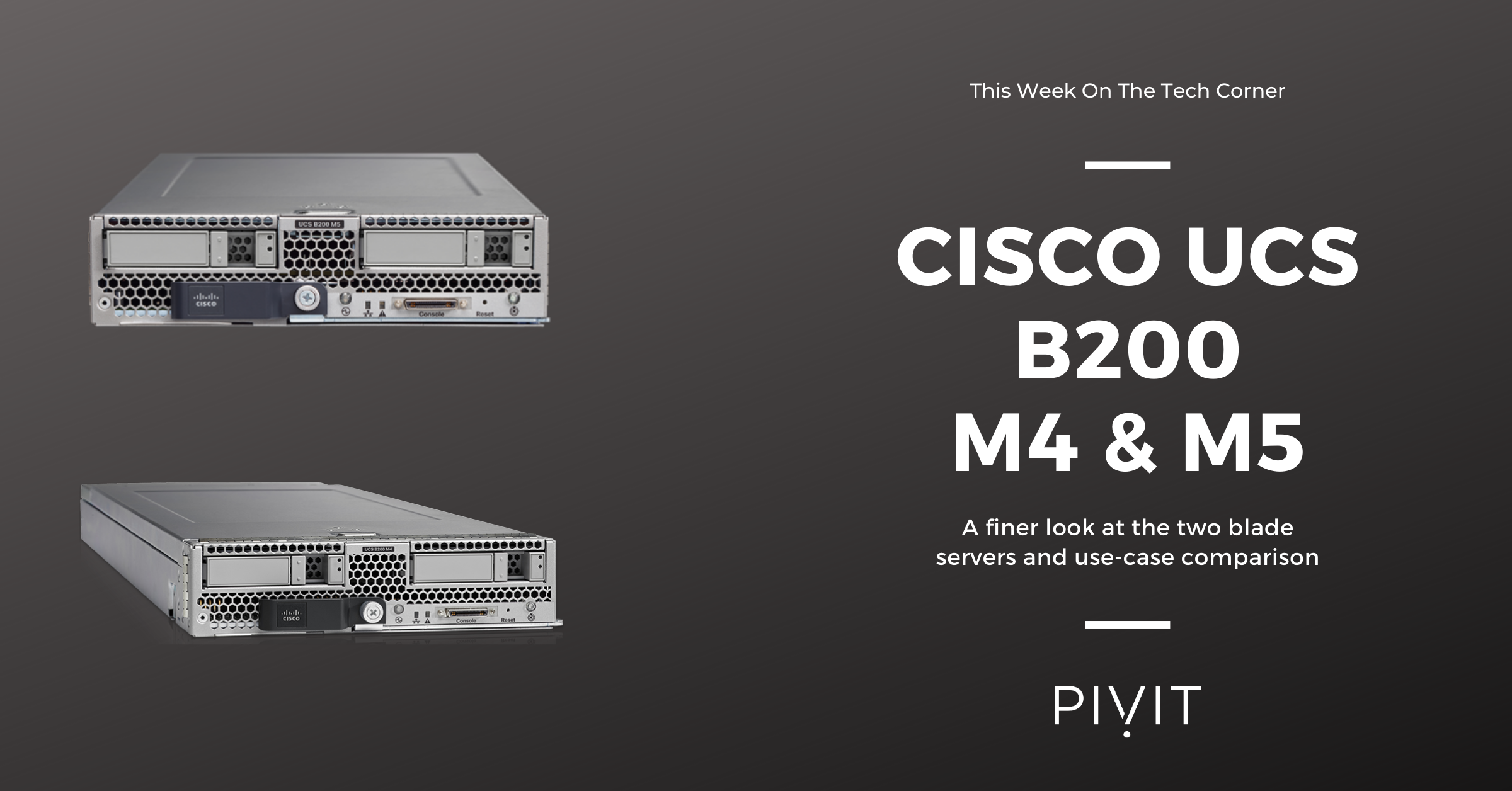 Comparison: Cisco UCS B200 M4 vs. Cisco UCS B200 M5